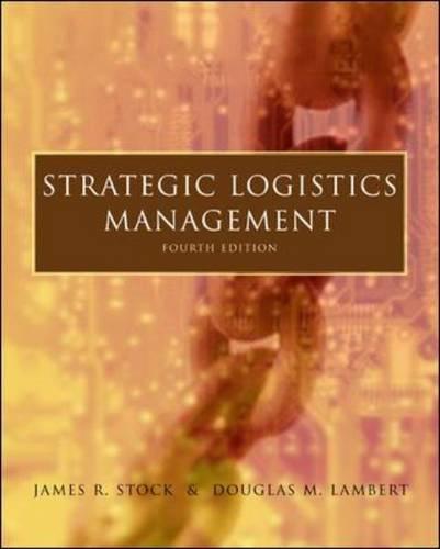 Strategic Logistics Management (Paperback)