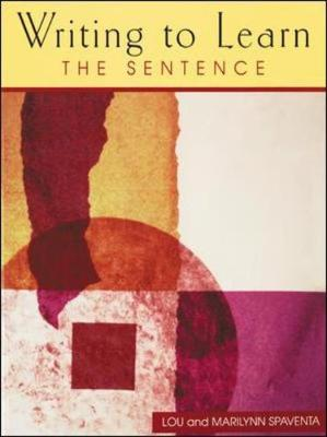 Writing to Learn the Sentence (Book 1) - Writing to Learn (Paperback)