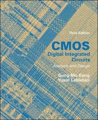 CMOS Digital Integrated Circuits: Analysis and Design (Paperback)