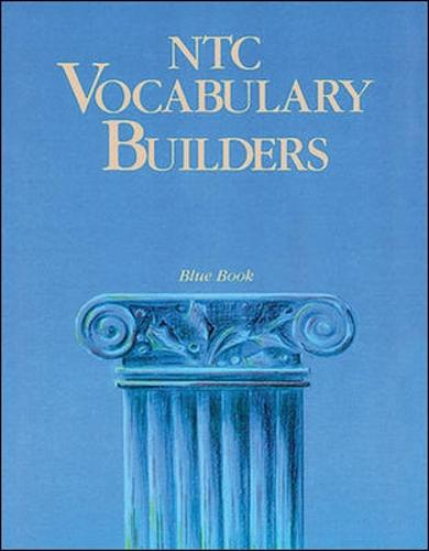NTC Vocabulary Builders, Blue Book - Reading Level 10.0 (Paperback)