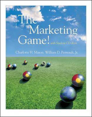 The Marketing Game!: AND Student CD- ROM