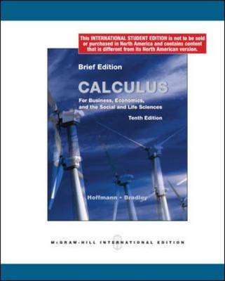 Calculus for Business, Economics and the Social and Life Sciences: Mandatory Package (Paperback)