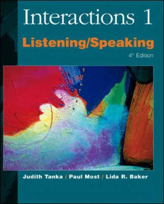 Interactions One: Listening and Speaking (Paperback)