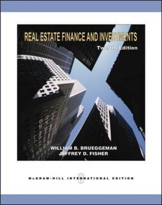 Real Estate Finance and Investments: With Excel Templates CD-ROM