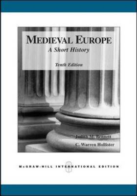 Medieval Europe: A Short History (Paperback)