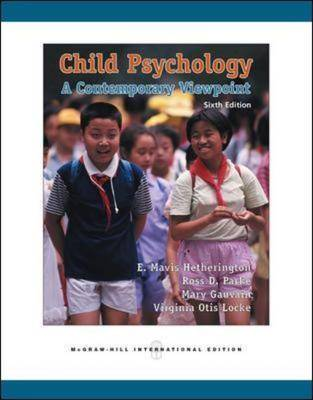 Child Psychology: With CD and OLC Bi-Card: A Contemporary View Point