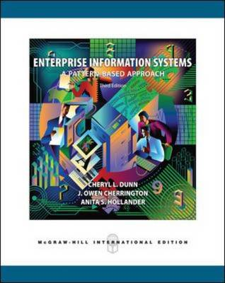 Enterprise Information Systems: A Pattern-based Approach (Paperback)