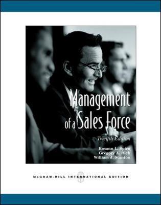 Management of a Sales Force (Int'l Ed) (Paperback)