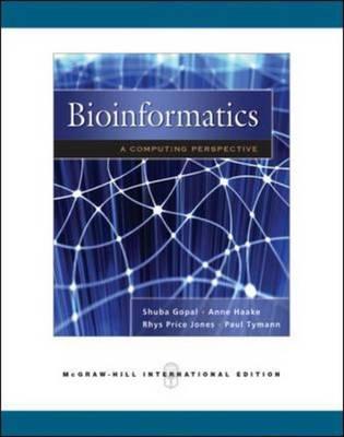 BioInformatics: A Computing Perspective (Paperback)