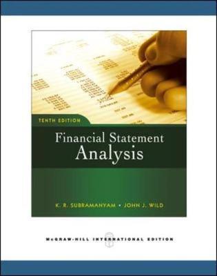 Financial Statement Analysis (Paperback)