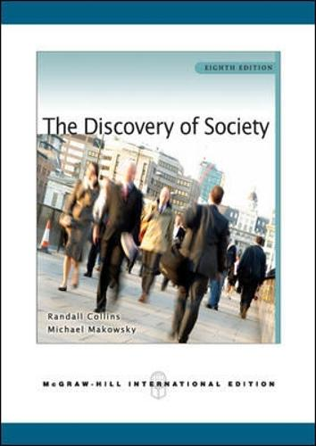 The Discovery of Society (Paperback)
