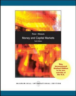 Money and Capital Markets (Paperback)