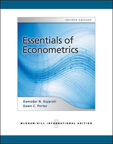 Essentials of Econometrics (Int'l Ed) (Paperback)