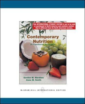 Contemporary Nutrition: a Functional Group Approach (Paperback)