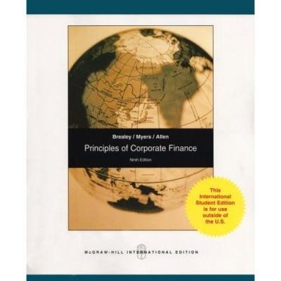 Principles of Corporate Finance: Pt. E (Paperback)