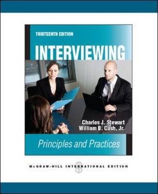 Interviewing: Principles and Practices (Paperback)