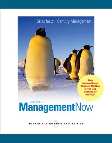 Management Now (Paperback)
