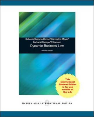 Dynamic Business Law (Paperback)