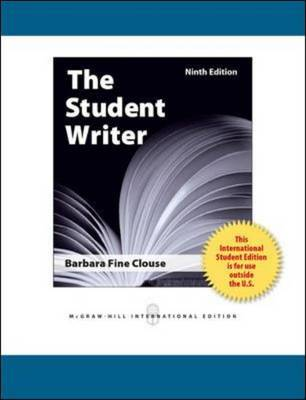 The Student Writer: Editor and Critic (Paperback)