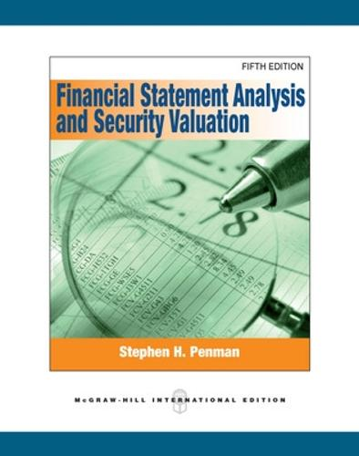 Financial Statement Analysis and Security Valuation (Paperback)