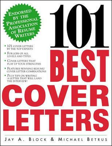 101 Best Cover Letters (Paperback)