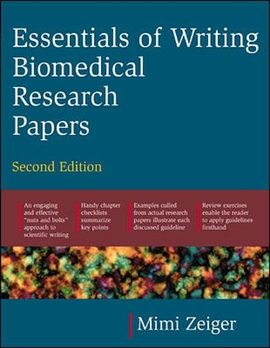 Essentials of Writing Biomedical Research Papers. Second Edition (Paperback)