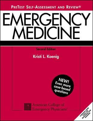 Emergency Medicine: PreTest Self-assessment and Review (Paperback)