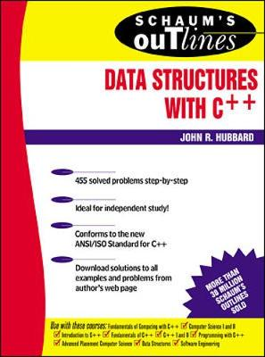 Schaum's Outline of Data Structures with C++ (Paperback)