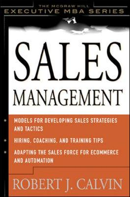 Sales Management - McGraw-Hill Executive Education (Hardback)