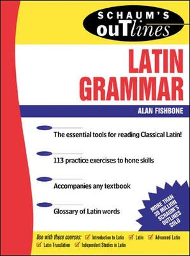 Schaum's Outline of Latin Grammar (Paperback)