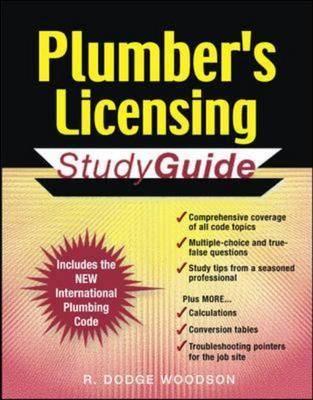 Plumber's Licensing: Study Guide (Paperback)