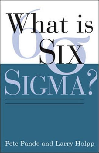 What Is Six Sigma? (Paperback)
