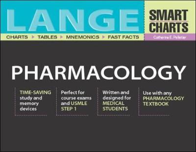 Lange Smart Charts Pharmacology - Lange Smart Charts S. (Paperback)
