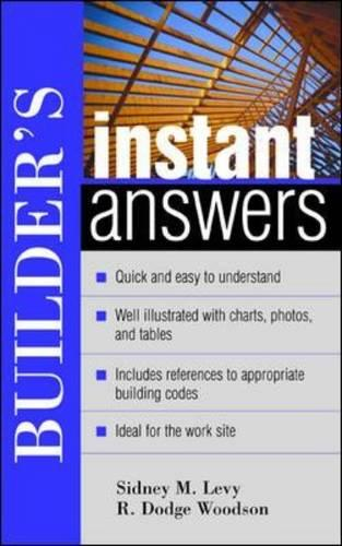 Builder's Instant Answers - Instant Answer Series (Paperback)