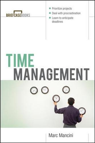 Time Management - Briefcase Books Series (Paperback)