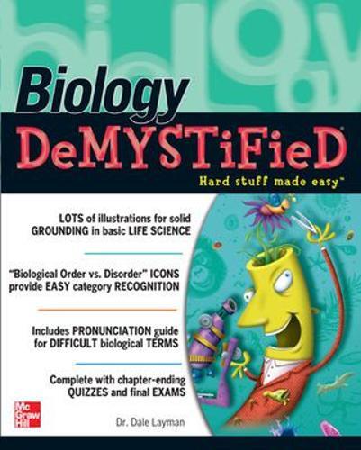 Biology Demystified - Demystified (Paperback)