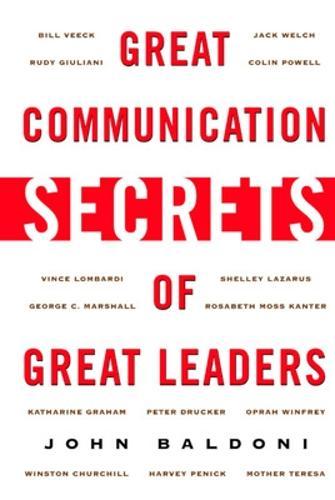 Great Communication Secrets of Great Leaders (Paperback)