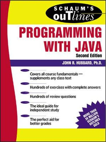 Schaum's Outline of Programming with Java (Paperback)