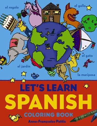 Let's Learn Spanish Coloring Book (Paperback)