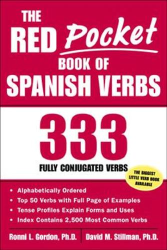 The Red Pocket Book of Spanish Verbs (Paperback)