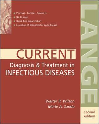 Current Diagnosis and Treatment in Infectious Diseases - Lange Current Series (Paperback)