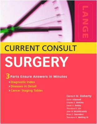 Current Consult Surgery - Lange Current Consult (Paperback)