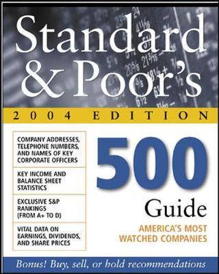 Standard & Poor's 500 Guide 2004 (Paperback)