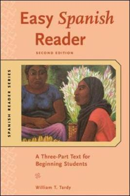 Easy Spanish Reader w/CD-ROM: A Three-Part Text for Beginning Students - Easy Reader Series (Paperback)