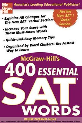McGraw-Hill's 400 Essential SAT Words (Paperback)
