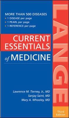 CURRENT Essentials of Medicine - Lange Current Essentials (Paperback)
