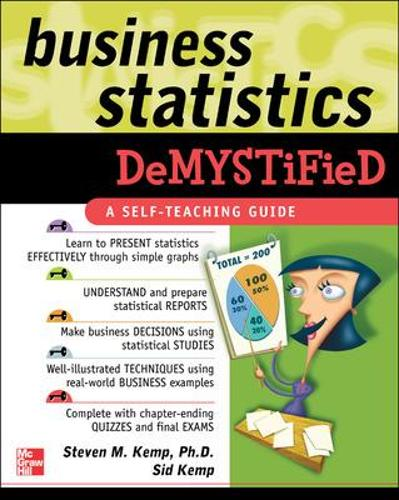 Business Statistics Demystified (Paperback)