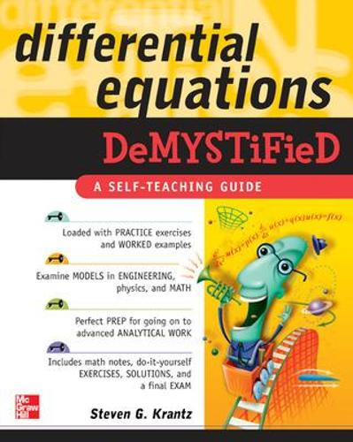 Differential Equations Demystified - Demystified (Paperback)