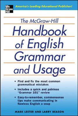 The Mcgraw-Hill Handbook of English Grammar and Usage: The Comprehensive and Commonsense Guide to Flawless English (Paperback)
