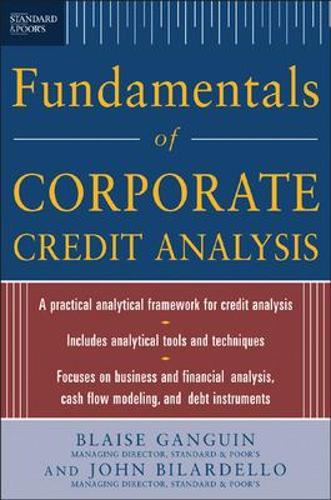 Standard & Poor's Fundamentals of Corporate Credit Analysis (Hardback)
